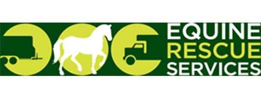 equine rescue services logo
